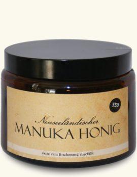 Aktiver Manuka-Honig MGO550 – 500g