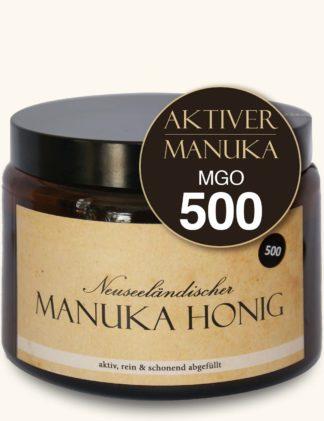 Aktiver Manuka-Honig (MGO500/15+)