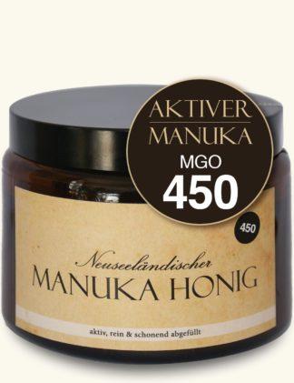 Aktiver Manuka-Honig (MGO450/14+)